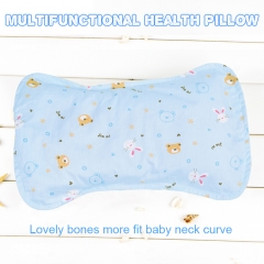 Multi-functional health pillow blue normal