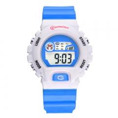 MINGRUI multi-functional waterproof digital watch blue