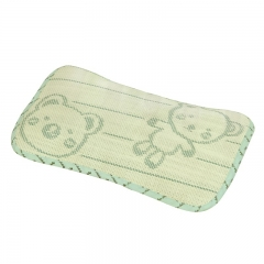 Bamboo charcoal mat baby pillow green one size