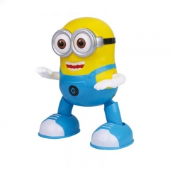 Electric dancing little yellow man yellow one size