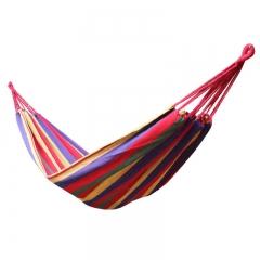 Multi-functional Portable Parachute Hammock Outdoor Canvas Fabric Hammock Orange