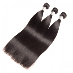 10A Brazilian Virgin Hair Perfect Quality 100%Human Hair Weave Staight 3pcs 100g/pc 8-30inch nature black 8 8 8 inch