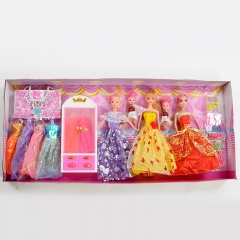 Kelly Barbie Set Gift Box Creative DIY wardrobe random one size