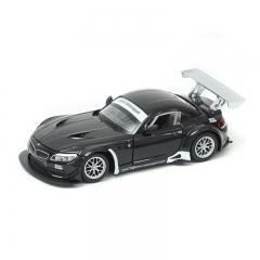 Children's toys 1:24 BMW Z4 GT3 simulation alloy car model sports car model black one size