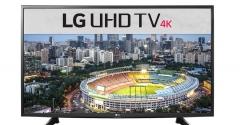 LG 4K LED Display Smart Digital Television (49UH651V) - Black, 49 Inch TV