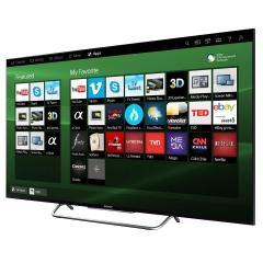 Sony (55WX8500C) Ultra HD/4K LED Display Smart Digital Television - Black, 55 Inch TV
