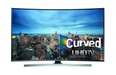 Samsung (65KU7350AK) Ultra HD/4K Curved Panel Smart Digital Television- Black, 65 Inch TV