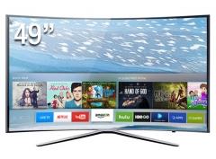 Samsung (49K6500) Full HD Curved Panel Smart Digital Television- Black, 49 Inch TV