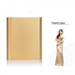 10400mAh Power Bank Mobile Power Portable Charger Battery Gold 10400m ah