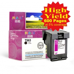 Ink Cartridge 63 Black WithHP Deskjet 1112/2130/2132/3630/3632  ENVY 4512/4520 Officejet 3830/4650.