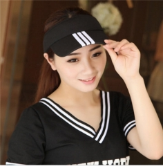Outdoor Sports Running Anti-UV Shade Tennis Hat Tide of Men/Women Free Sun Duck Tongue Baseball Hat Black One Size