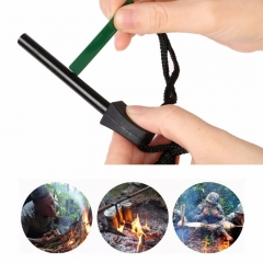 Outdoor Survive Fire Starter Tool Waterproof Magnesium Rod with Iron Scraper