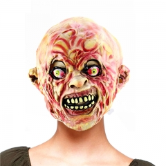 Halloween Adult Mask Zombie Mask Latex Bloody Scary Extremely Disgusting Full Face Mask At picture Free size