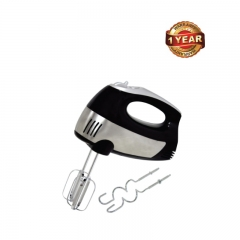 Ramtons (RM/382) Hand Mixer with 2 Beaters & 2 Dough Hooks - Black