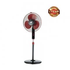 Ramtons 16 Inch Free Standing Oscillating Fan (RM/272) - Maroon & Black