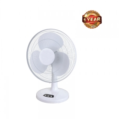 Ramtons 16 Inch/40cm Table Top Oscillating Fan (RM/388) - White