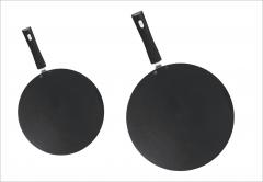 Fine  non stick Chappati pan/ Tawa black 12''