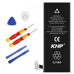 100% Original Brand KHP Mobile Phone Battery For iPhone  Original Capacity Li-ion Phone Battery black iPhone- 4s