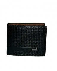 Executive Leather  Wallet black 11.5cm*9.5cm*2mm