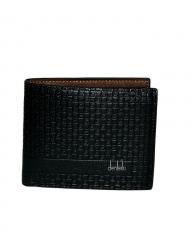 Executive Leather  Wallet black 11.5cm*9.5cm*2mm