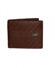 Executive Leather  Wallet brown 11.5cm*9.5cm*2mm
