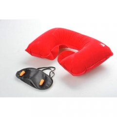 3 in 1 Travel Selection Set red one size