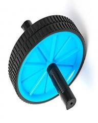 BFT Plastic Roller Double Wheel Black & Blue