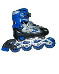 BFT Tracer Adjustable Inline Skates Black & Blue 35