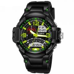 Water Proof Adult Sport Watch Watch Waterproof Watch for Men green 17.15mm*54.04mm