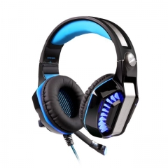 GM-2 Gaming Headset Headphone with Mic LED Light for PC PS4 X box One Phone Earphone Black/Red Black/Blue