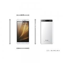 5.5 Inch Smartphone Phablet Quad Core 1GB RAM 8GB ROM  2MP Camera With Black  White white