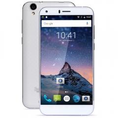 5 Inch 4G Smartphone Phablet Quad Core 3GB RAM 16GB ROM 13MP Camera WhiteBlack white