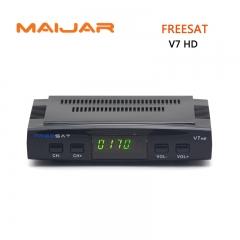 Freesat V7 DVB-S2 HD satellite TV receiver  suppport Youtube Powervu CCcam Newcamd network sharing