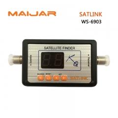SATLINK WS-6903 Digital Satellite Finder Meter Digital Terrestrial Signal WS6903 led displa meter
