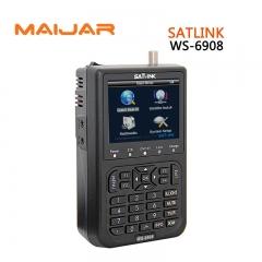 Digital Satellite Finder Meter WS6908 Satlink WS-6908 Strength Signal Search DVB-S Auto Blind Manual