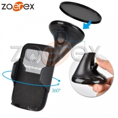 Multi-Function Qi Wireless Charger Phone Holder Car Charger For Samsung S6 S7 S7Edge Note 5 LG G3/G4 black 'normal'