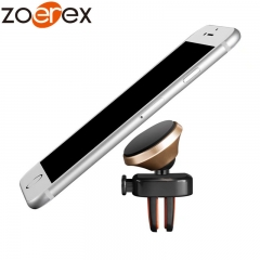 5 pcs  360 Degree Universal Metal Stand Car Phone Holder gold one size