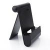 5 pcs Universal  Mobile Phone Charging  Desktop Support Bracket For Tablet Smartphone Holders black one size