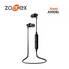 Awei A990BL Anti - Khan Sports Wireless Stereo Bluetooth Headset black