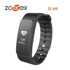 I3HR Smart Bracelet Heart Rate Health Monitor Message Push Bluetooth Step Walk black only