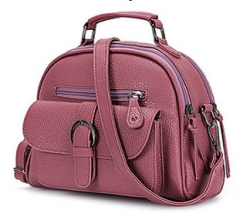 Topfashion Handbag  Women New Fashion Small Shell Tote Red Bean Paste one size