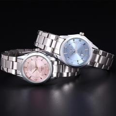 Fashion Watches Women's Diamonds Quartz Watch with Dress Fashion Watch pink