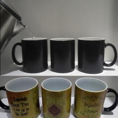 Magic Cup Harry Drink Cup Color Change Cup Potter Predator Map prank black 9.6*8.2cm