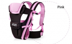 Baby Carrier Breathable Multifunctional Front Facing Infant Comfortable Sling Backpack Pouch Wrap Pink 2-30 Months