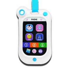 4 pcs UnyeeToy Baby Learning Musical Cellphone Toy Baby Toys Crying Stop Master White one size
