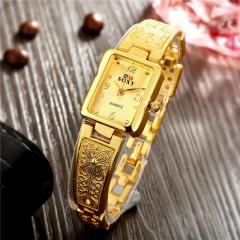 Fashion Golden Shining Watches Women Dress Watches Quartz Watches Golden Silver Watches Cestbella Golden