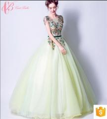New Brisk Green Cap Sleeve Evening Dress Porn For Seniors Guangzhou Cestbella  Evening Dress blue us 4
