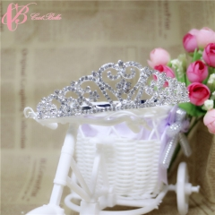 Cestbella New Trendy Style Decoration Wedding Princess Bride Crowns white 01