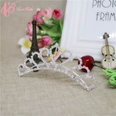 Princess Hair Accessory Classical Crown Bridal Tiara Beauty Women  Cestbella Crown white 01