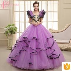 Up-market Cap Sleeve Purple Trumpet  Cestbella  Gown Designs For Fat Girl Ecru Evening Dress purple us 4